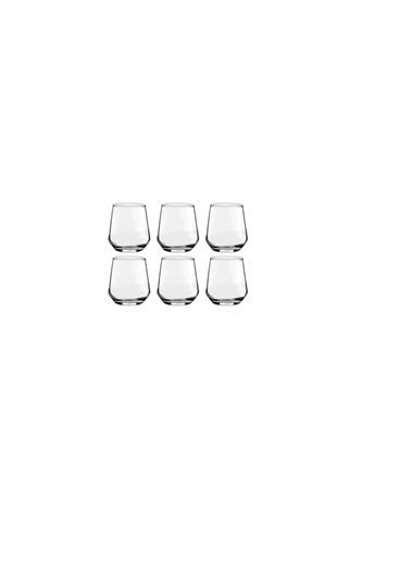Paşabahçe Allegra Kahve Yanı Su Bardak 6Lı Su Bardağı Sade Renkli